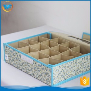 Custom Divide Extra Large Storage Basket With Cover