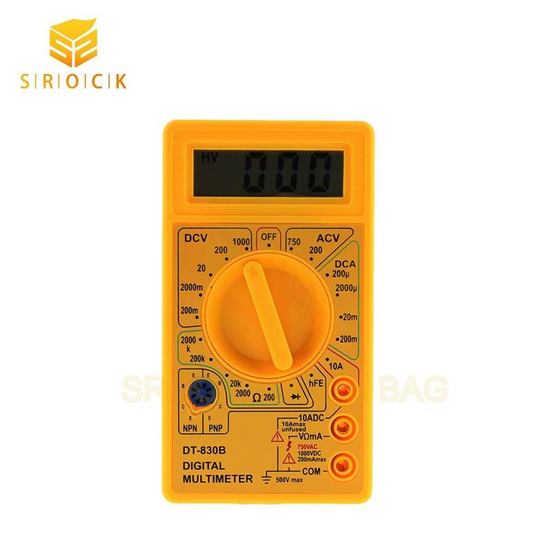Made in china variety function digital analog multimeter 830B