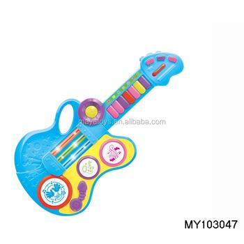 Juguetes De Dibujos Animados Multifuncional Instrumento Guitarrabarato Bo Guitarra Musical Buy Guitarra Eléctricaguitarra Multifuncionalbo