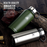 Vaccum Double Wall Insulation Vacuum Flasks, Wide Mouth Design Hot Sales Fashion Colorful Water Thermos Bottle