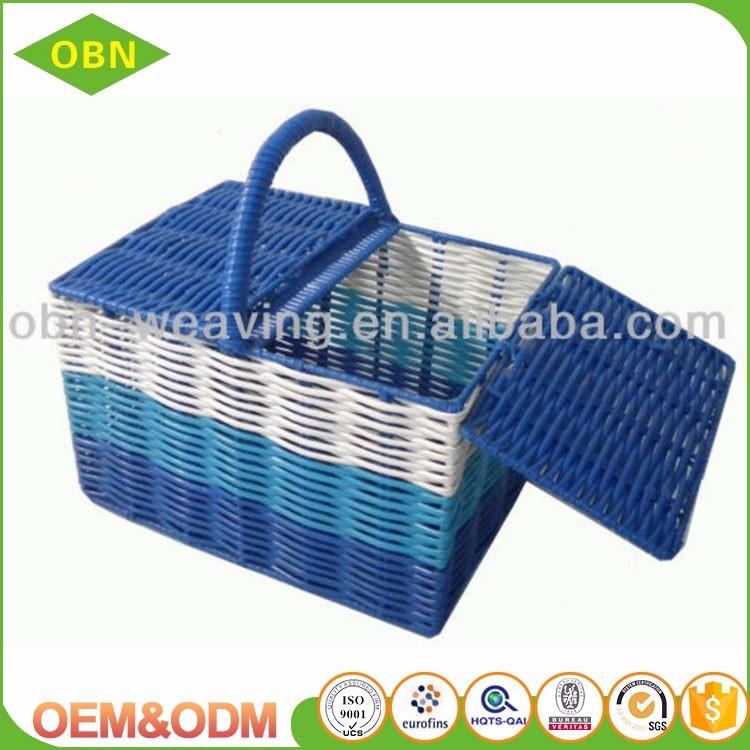 Basket Weaving Name : Wholesale cheap price plastic weaving picnic basket buy