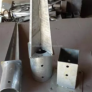 HOT DIPPED GALVANIZED SQUARE Earth Screw Ground Anchor