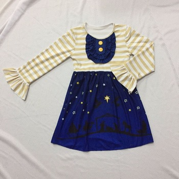 f2b5c14749be Wholesale boutique clothing baby girl s quality knitted cotton dress