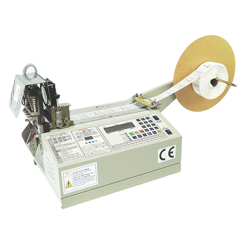 Alle-digitale intelligente versie controle apparaten Tape/rits/singels/handelsmerk/leer/nylon/lint/label snijmachine