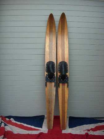 Vintage Wooden Water Skis Product On Alibaba