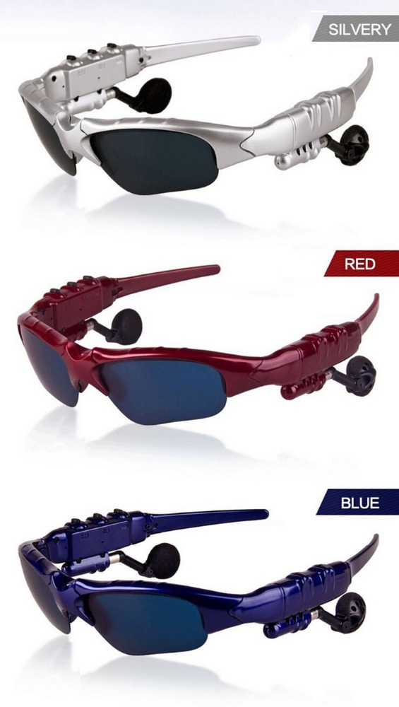 Smart Stereo <strong>Bluetooth</strong> 4.0 Headset Sunglasses Glasses Support Hand-free Calling Music for IOS Android Smartphone