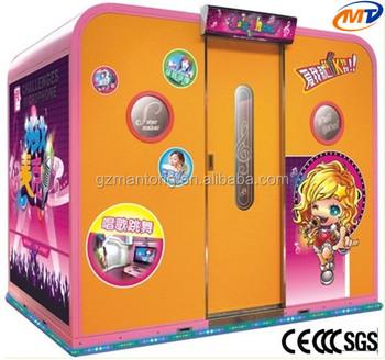 Arcade Amusement Karaoke Cabinet Happy Ktv Video Game Machine ...