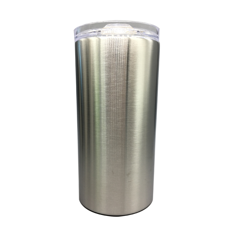 12oz Skiny Double Walled Stainless Steel Tumbler Without Seam For Handmade