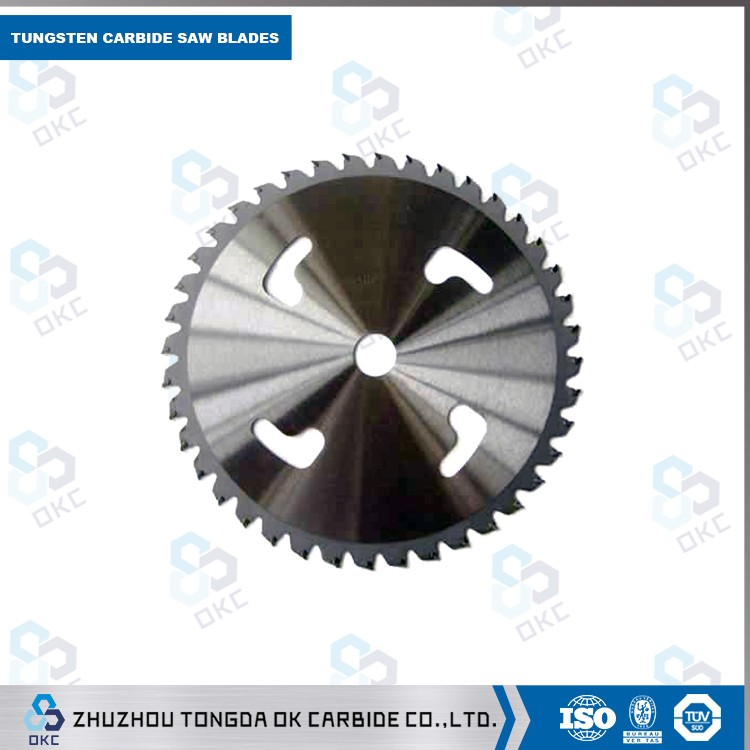 Zhuzhou Tongda cutting fibrous plaster circular carbide saw blades