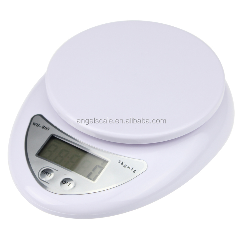 small electronic multifunction weighing scale 5kg digital kitchen scale for small things