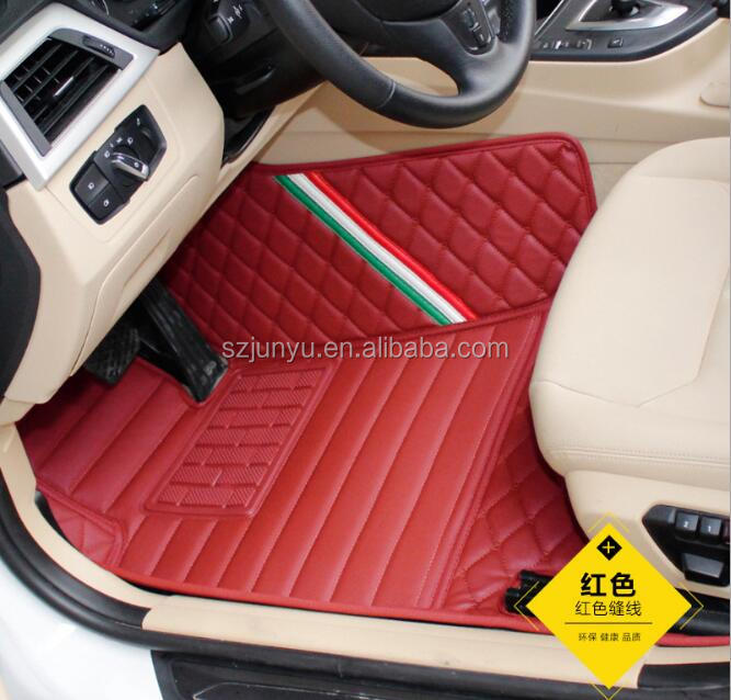 5D Full Surrounded Leather Odorless Eco-friend XPE custom-fit car mat for Honda CITY