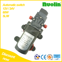 Automatic switch - portable 60w 5L/M 12v dc mini water pump cars electric pressure switch for car wash or watering garden