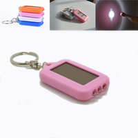 Buy Wholesale Personalized led solar light blinking keychain in ...