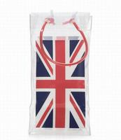 Wholesale plastic clear pvc wine cooler ice bag for wine