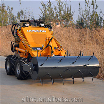Factory supply compact mini skid steer loader hy380