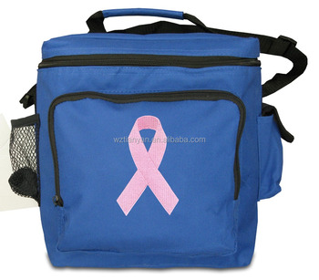 Food Cooler Bag Pp Non Woven Laminated Cool With Zipper For Lunch In China