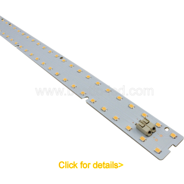 Factory supply W90H35mm recessed mounted DIY led linear lighting system matching with zhaga standard LED strip light