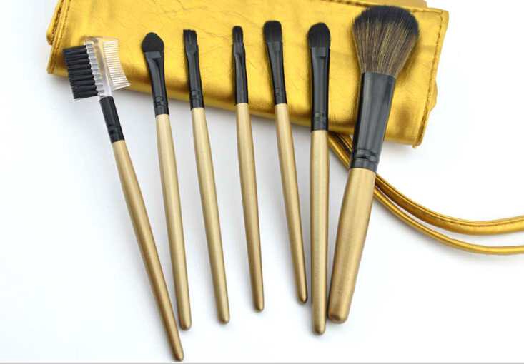 Hot Selling 7pcs Professional Portable Makeup Brushes Make Up Brushes Cosmetic Brushes