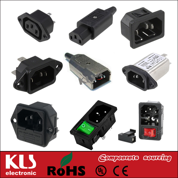 Good quality us 3 pin <strong>plug</strong> to iec c13 female UL CE ROHS 242 KLS Brand