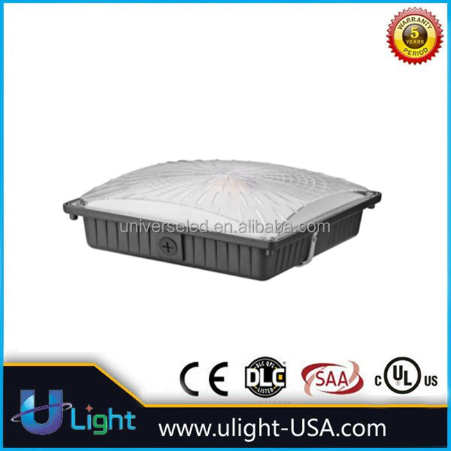 wholesales price 45w 65w COB LED canopy light square for warehouse, car part, workshop ceiling mount