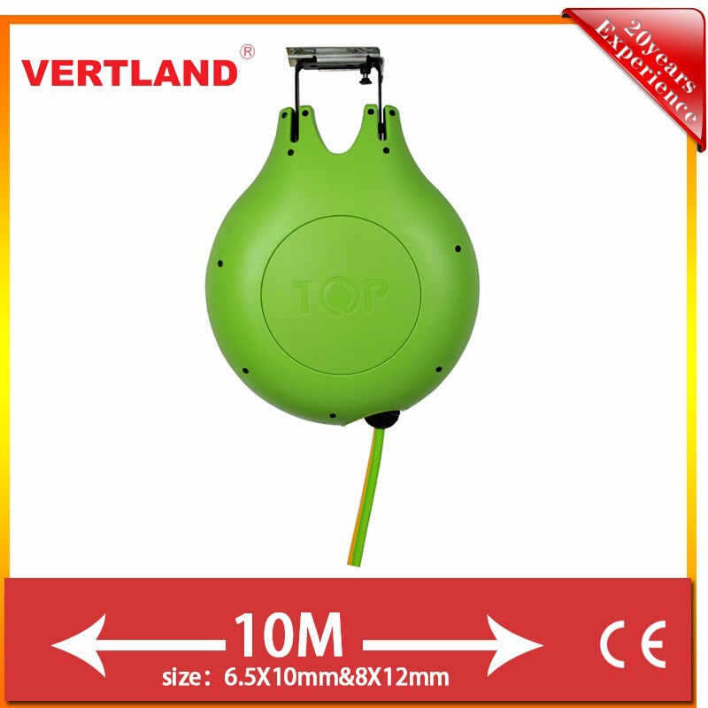 VERTLAND TPU Spring Driven Welding Twin Hose Reel for car wash