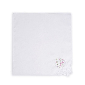 Ladies New Embroidered Cotton Soft Large Women Handkerchief