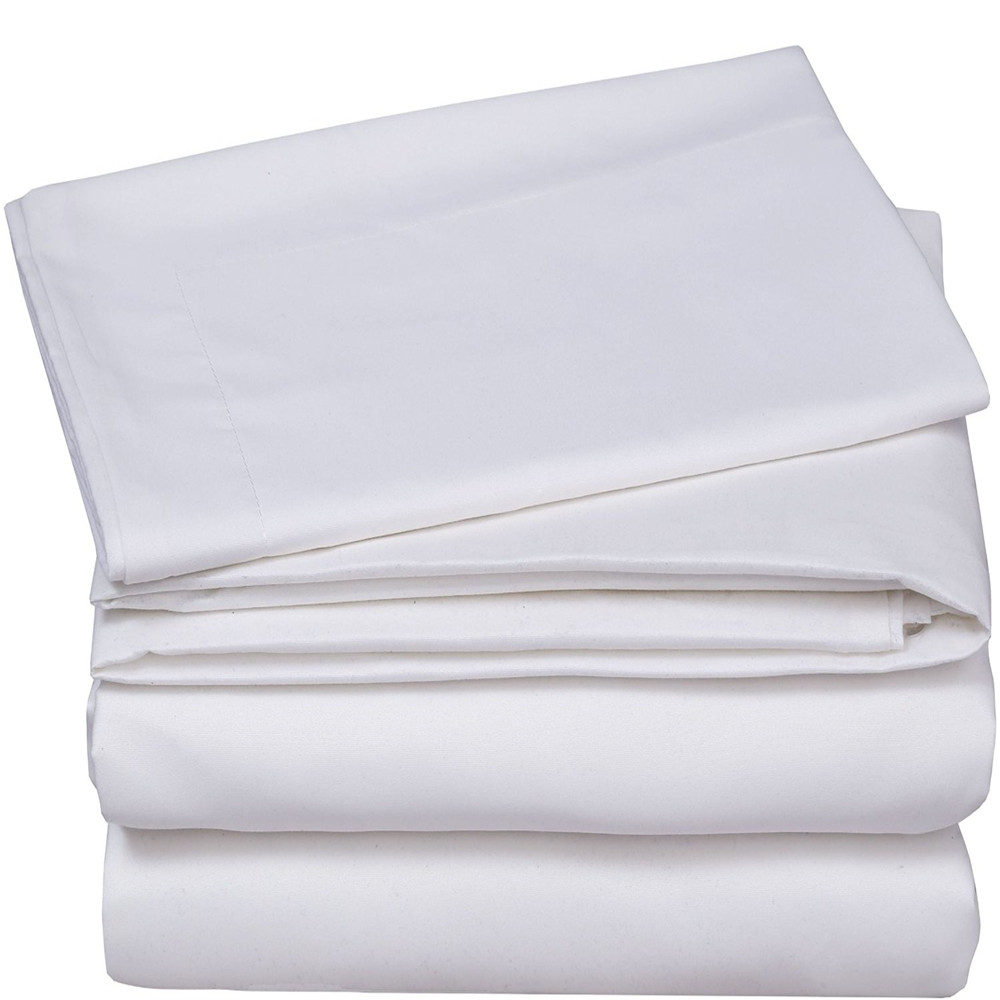 Blank White 100% polyester Woven Fabric For Sublimation Printed