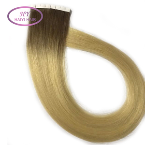 100% Virgin Remy European Tape Hair Extension Wholesale Invisible Double Drawn Remy Tape In Human Hair Extension