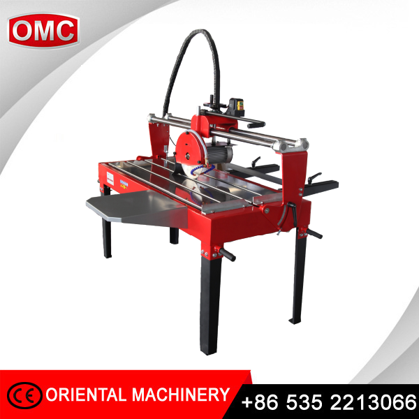 Osc H Hand Pull Granite Marble Cutting Table Wet Saw For