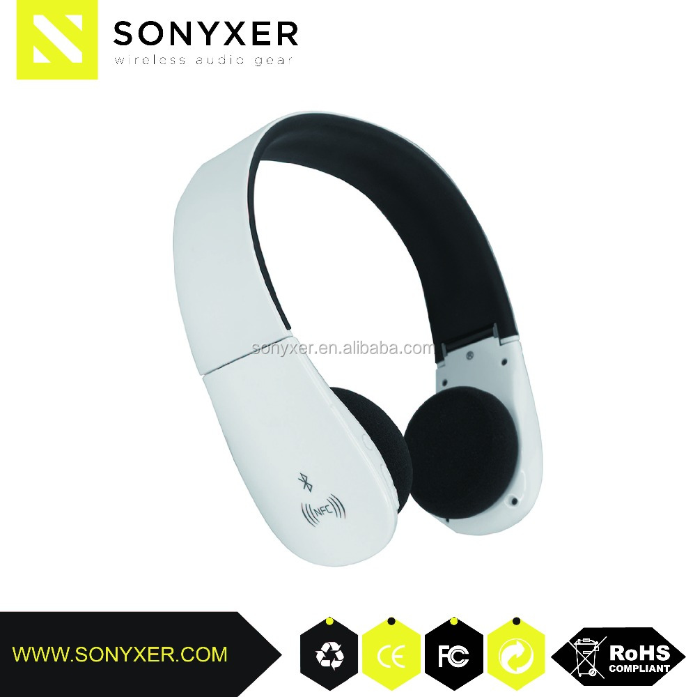 Sonyxer portable fm receiver headphone,custom designed headphone manufacturers in aec headphone bluetooth