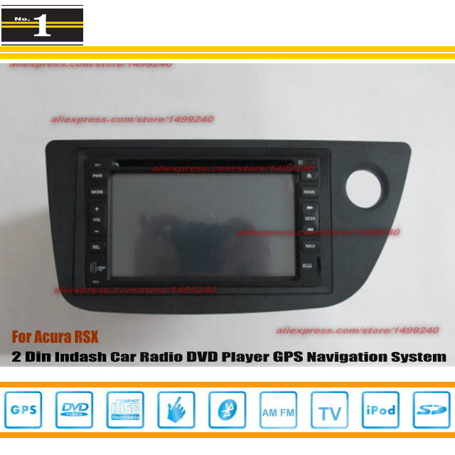 For ACURA RSX 2002~2006 Radio CD DVD Player & GPS