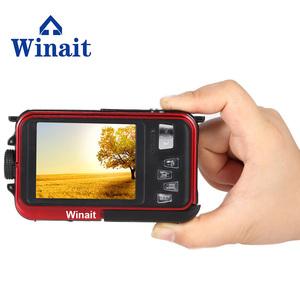 WINAIT 24 Mega pixels Digital camera with dual display and 16x digital zoom waterproof camera