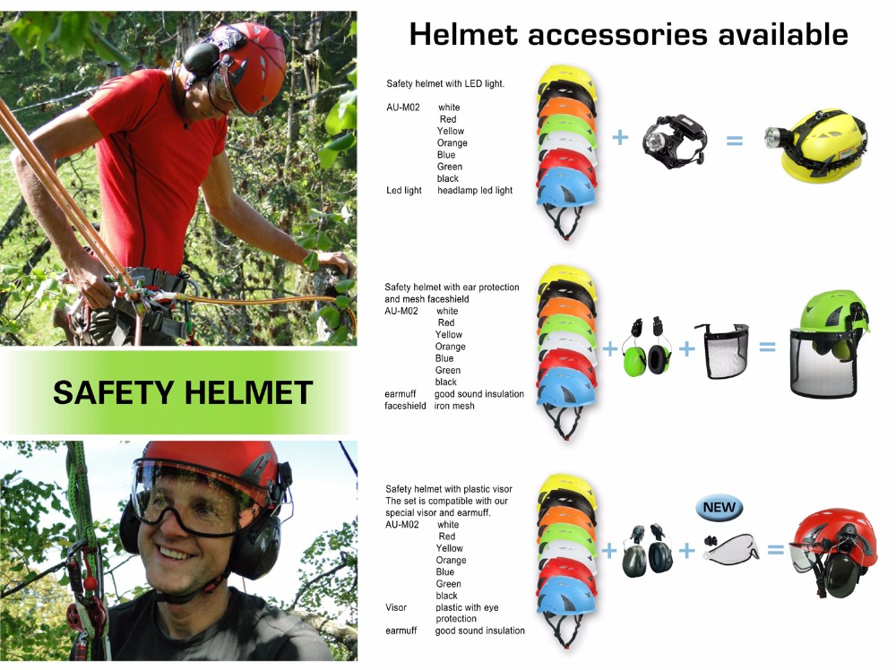 Customized Height Safety Helmet For Work At Height And Rope Access ...