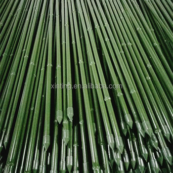 Charmant Artificial Bamboo Steel Garden Stakes For Plant Support