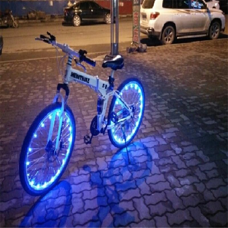 Nieuwe Mountainbike Zeven Kleuren Waterdichte Fire Wiel Spaken Wiel ...