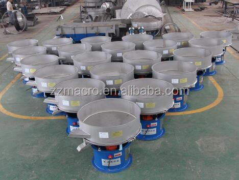 vibrating screen sieve shaker for pollen milk soybean protein rice flour grading