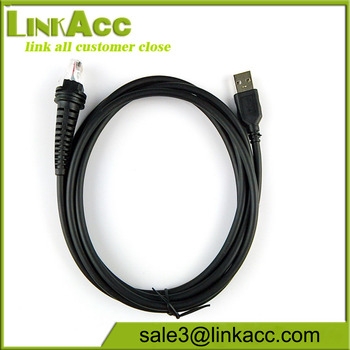 2M USB Cable for BarCode Scanner Honeywell HHP 1200G 1202G 1250G 1250GAP  1300G 1400G 1500G 1900GHD 1900GSR 1902GH, View 2M USB Cable for BarCode