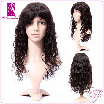 30color 28Inches Full Lace Wig Barzilian Extension Korean Style Hair