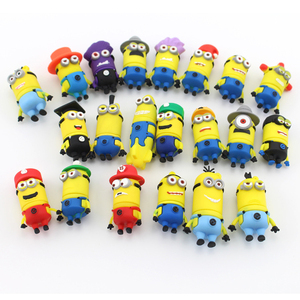 Cartoon USB Memory Stick 2gb 4gb 8gb 16gb 32gb 64gb Minions usb flash drive with usb 3.0