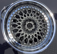 3 pieces forged alloy wheel rim with T6061 for sale