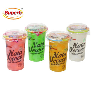 malaysian snack soft drinks wholesale jelly nata de coco cup