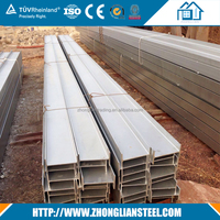 Structural astm a36 iron steel h beams for sale