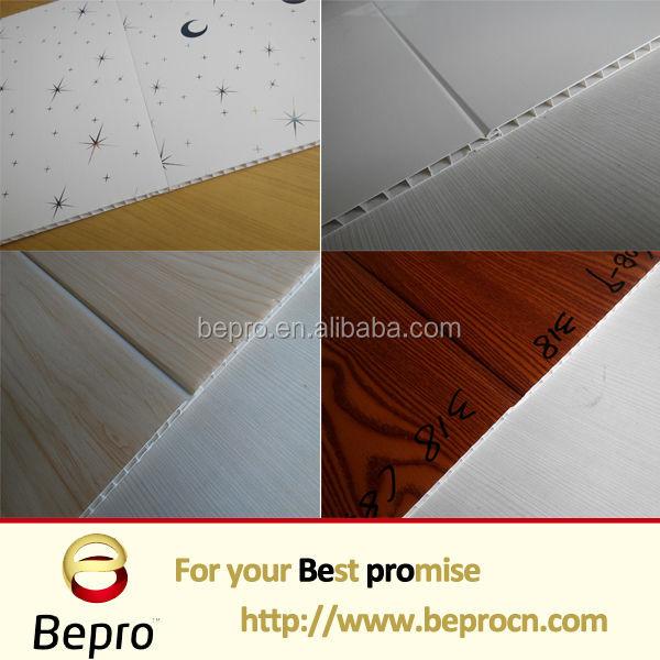 Waterproof Building Material Interior Wall Decorative Panels Bathroom Tiles Design Pvc False Ceiling Board