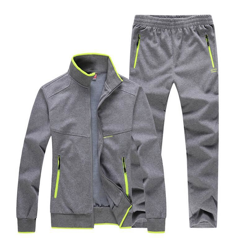 Factory men sports tracksuits - sports track suits / soccer training tracksuitsportswear