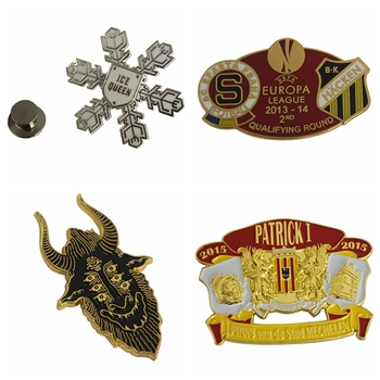 Personality custom enamel metal suit lapel pin manufacturers