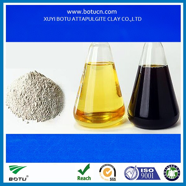 Activated Bleaching Clay Fuller's Earth Oil Refining