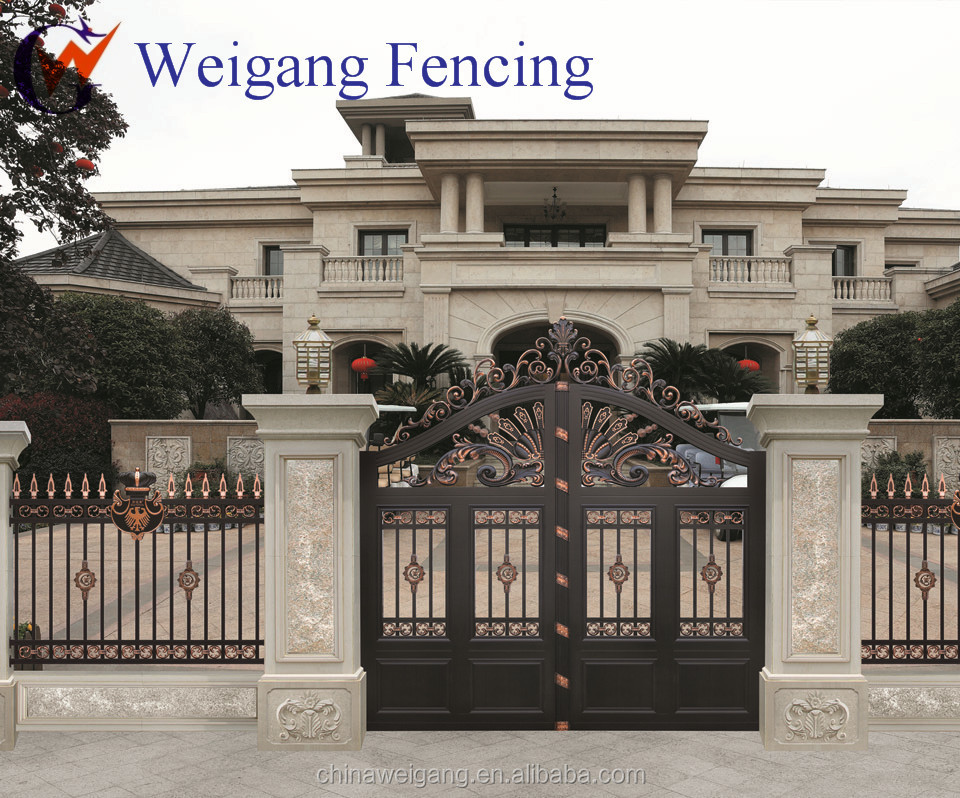 wrought iron gate models for homes   laser cut aluminum gate for sale. Wrought Iron Gate Models For Homes   Laser Cut Aluminum Gate For