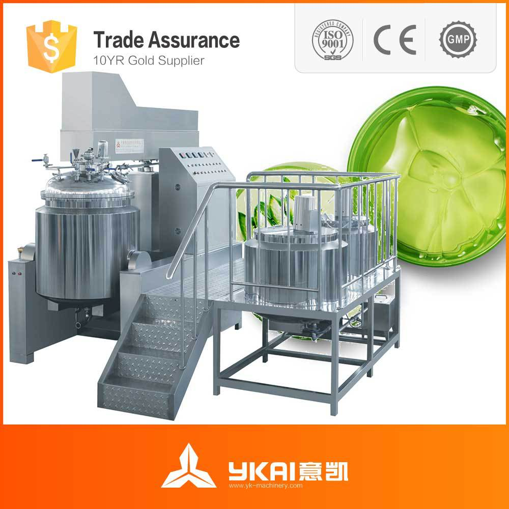 500L toothpaste making machine, toothpaste mixing equipment, toothpaste production line