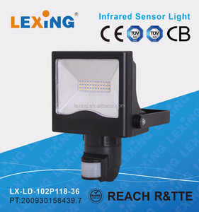 High power sensor PIR LED floodlight sensor light