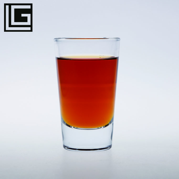116ml custom unique best price clear bullet shot <strong>glass</strong> for liquor/wine